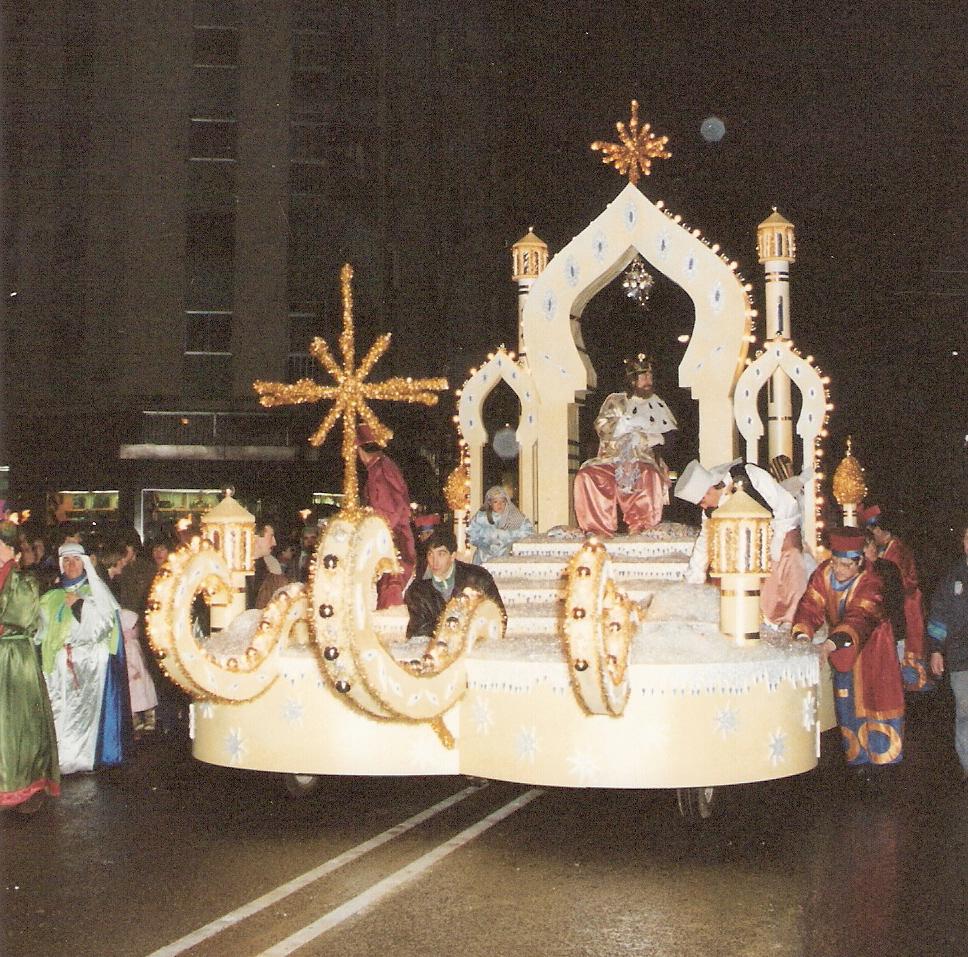 Carrozas De Reyes Magos Fotos.Carrozas De Reyes Magos Luis Ortega Exposicion Digital